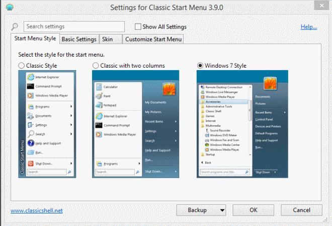 Classic Shell in erster Beta-Version 4 veröffentlicht – Unterstützung nur noch ab Windows 7
