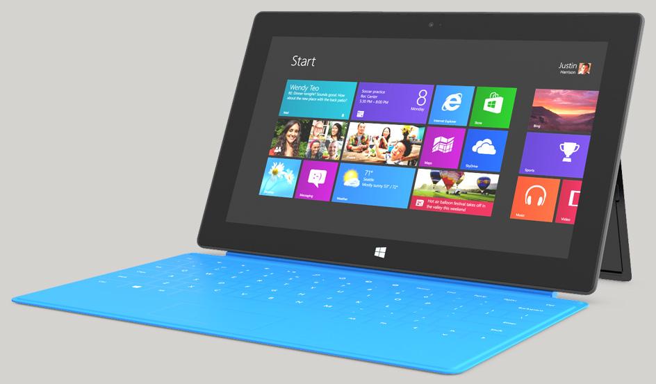 """Neue Videos zum """"Surface""""von Microsoft veröffentlicht"""