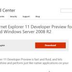 Internet Explorer 11 DP für Windows 7
