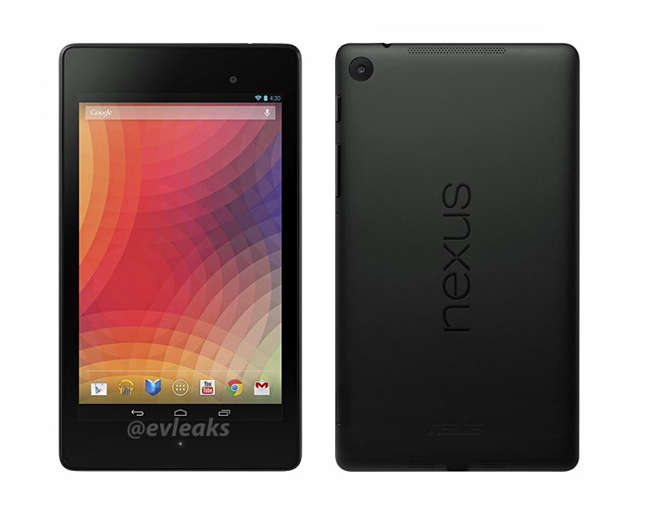 Pressebilder vom kommenden Nexus 7 veröffentlicht