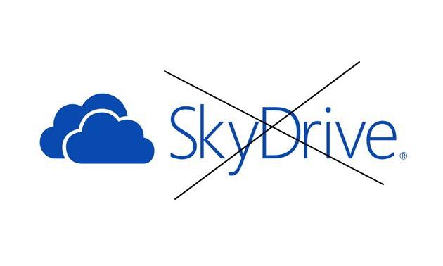 Nun ist es soweit SkyDrive verliert den Namen