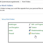Work Folders – Arbeitsordner – Windows 8.1 Was ist das?