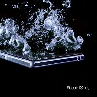 """Sony veröffentlicht weiteres Bild vom Sony Xperia Z1 """"Honami"""" – Wasserdichtes Smartphone in weiß, schwarz & violett"""