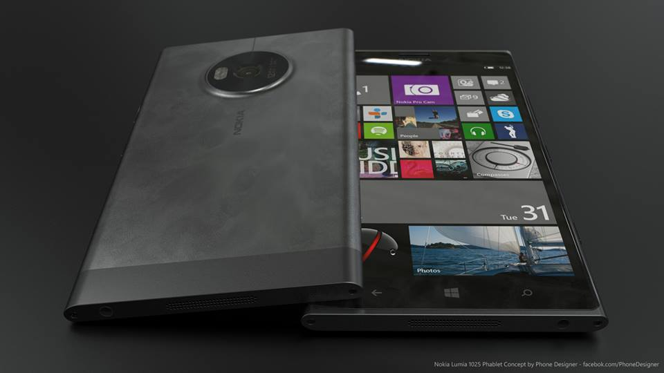 Nokia Lumia 1025 Phablet Konzept