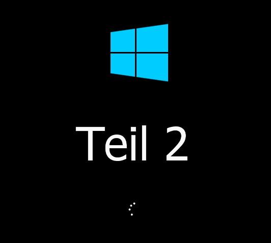 Windows 8.1 9471 einmal angeschaut Teil 2
