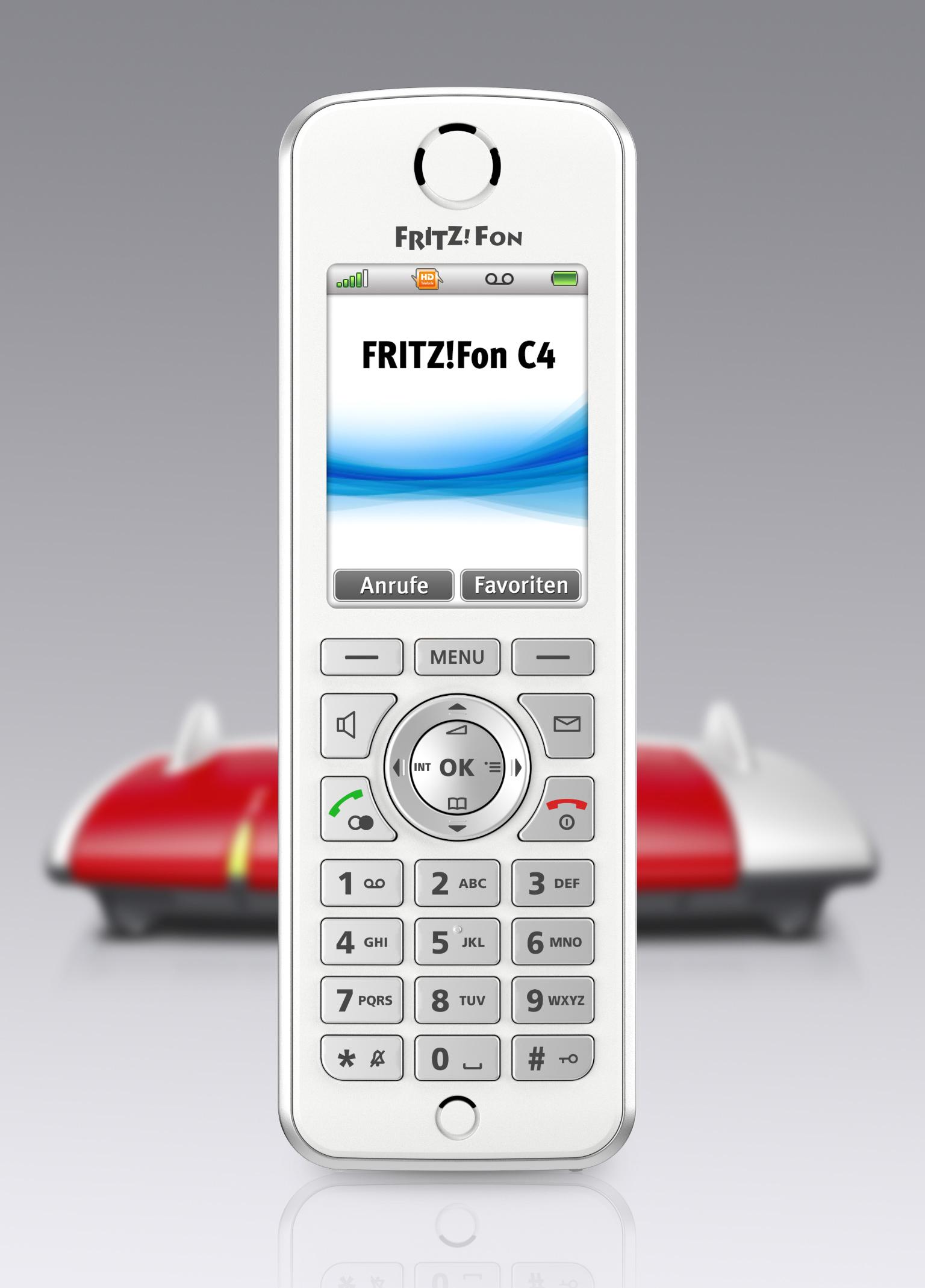 AVM zur IFA mit FRITZ!Fon C4, FRITZ!WLAN Repeater 450E, FRITZ!WLAN Stick AC 430 und dem DVB-C-Repeater