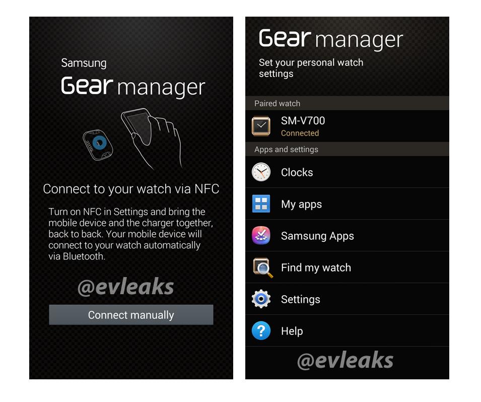 """Neue Infos zur Akkulaufzeit der Samsung Gear und erster Screenshot des """"Gear Manager"""" geleakt"""
