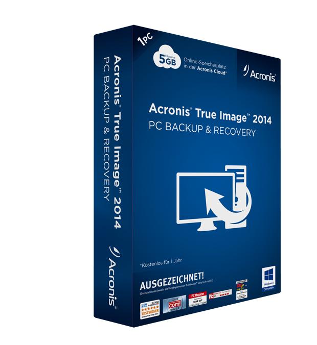 """Acronis veröffentlicht """"Acronis True Image 2014"""" mit Cloud-Backup und mehr…"""