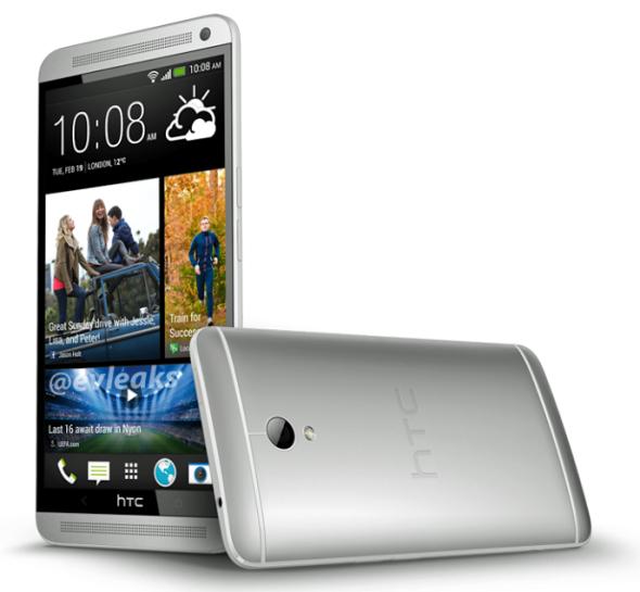 Mögliches Pressebild des kommenden HTC One Max geleakt