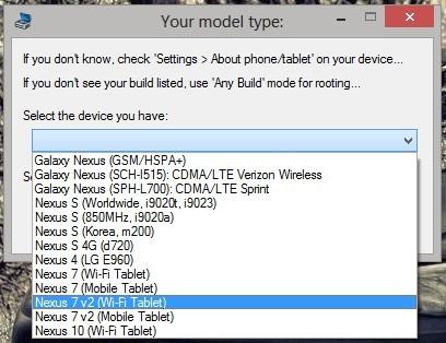 Wug's Nexus Root Toolkit Version 1.6.8 unterstützt nun auch das Nexus 7 (2013)