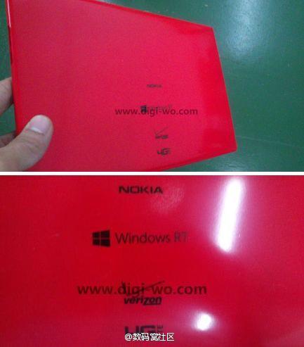 Foto des möglichen Nokia Tablet mit Snapdragon 800 und Windows RT 8.1 geleakt