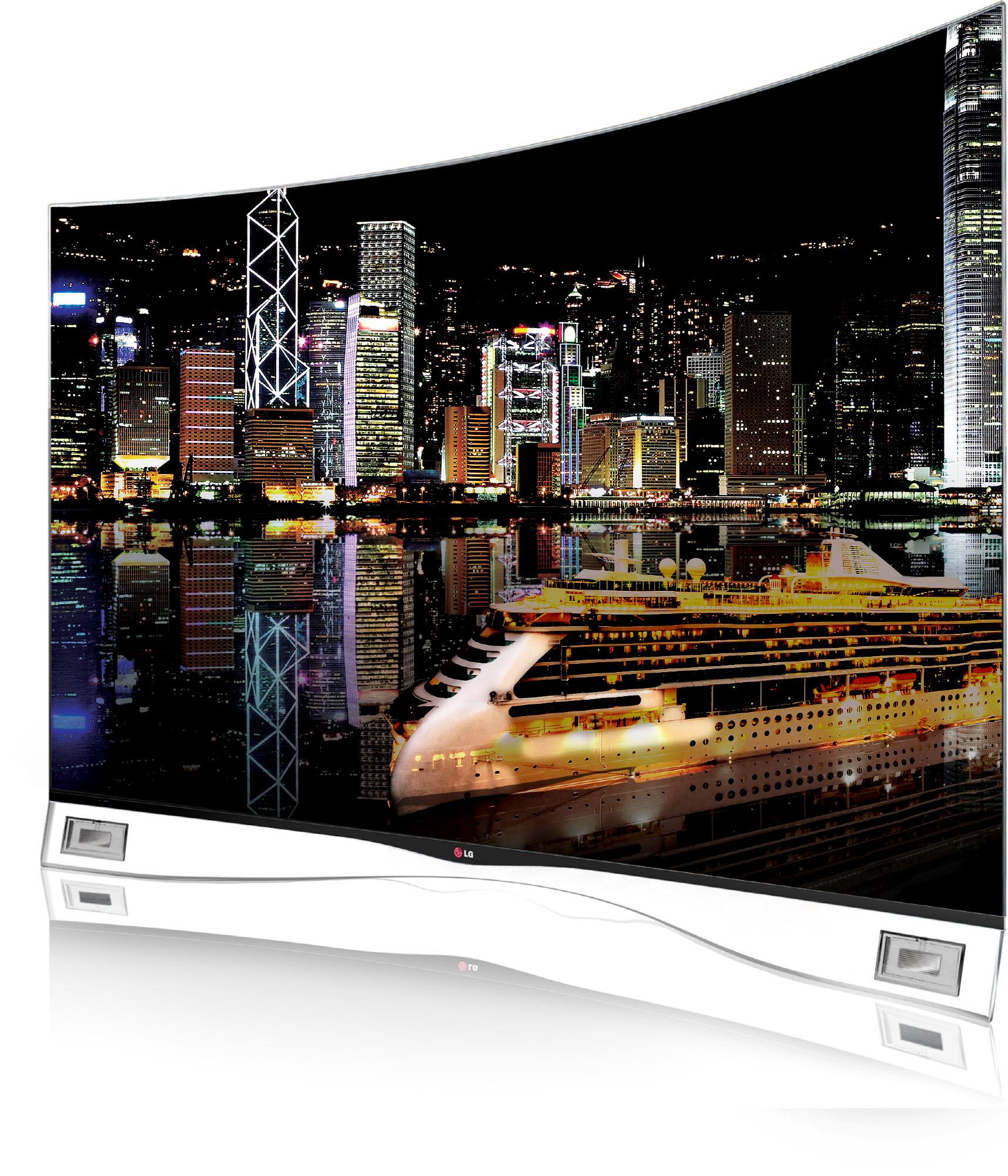 "Curved OLED TV ""LG TV EA9809"" kommt nach Deutschland"