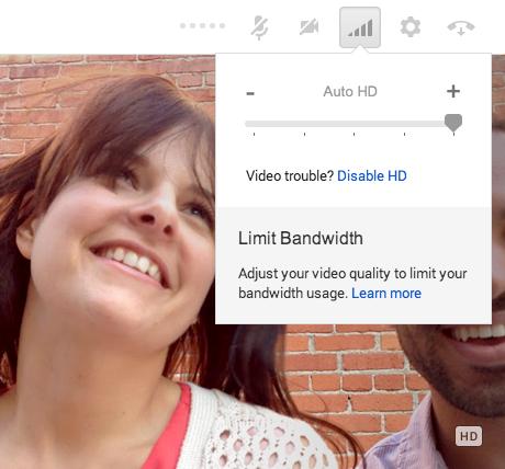 Google Hangouts nun auch mit HD-Videos