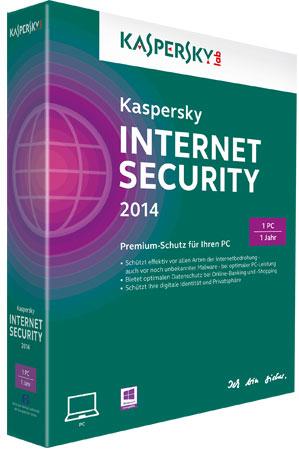 [Kurzinfo] Kaspersky Internet Security 2014 & Kaspersky Antivirus 2014 bereits verfügbar