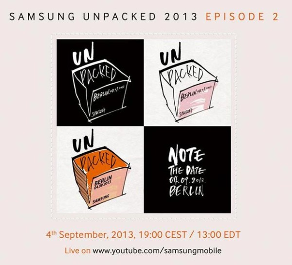 Unpacked Event am 04. September von Samsung angekündigt