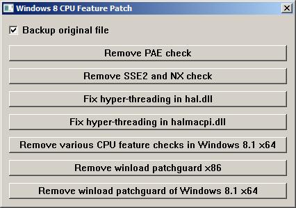 Windows 8 und 8.1 auch mit altem Board und CPU installieren