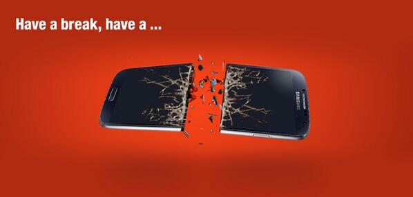 """Have a break, have a…"" – Nokia stichelt gegen Google & Samsung"