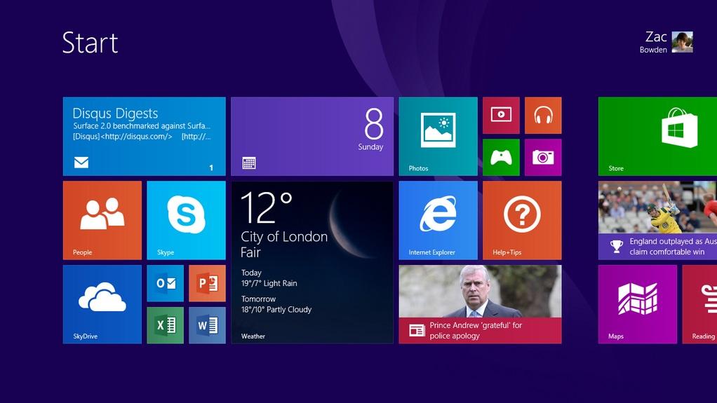 Video zu Windows RT 8.1 auf einem Surface RT veröffentlicht