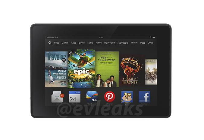 Pressebild zeigt Kindle Fire HD 2