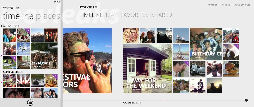 """""""StoryTeller"""" – Kommmendes Nokia App zur Verwaltung von Bildern zeigt sich auf Screenshot"""