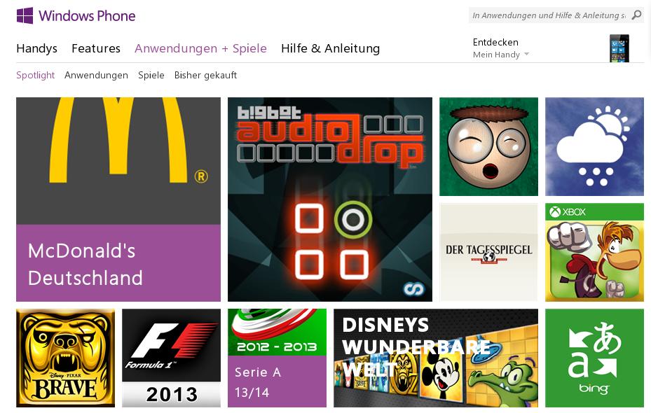Microsoft bereitet einen gemeinsamen App-Store für Windows & Windows Phone vor