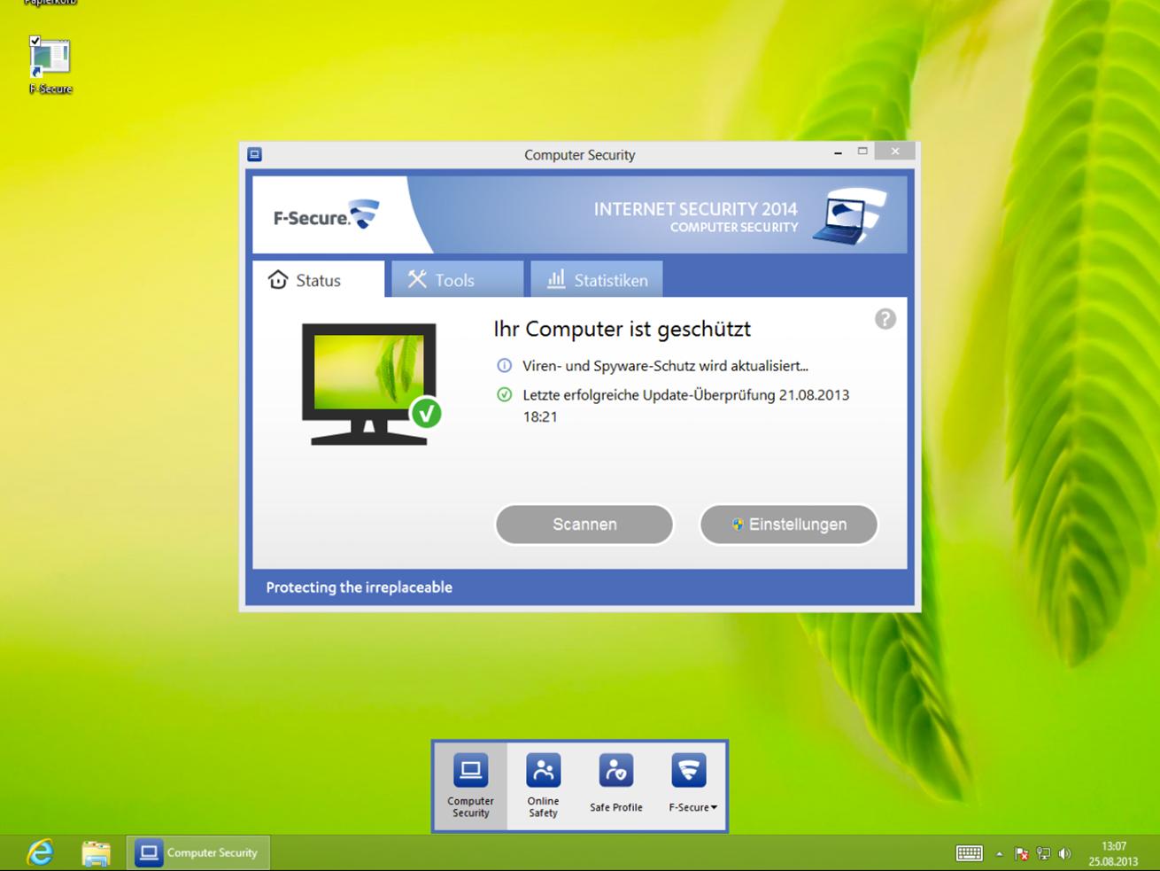 F-Secure Internet Security 2014 veröffentlicht