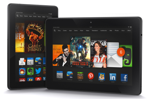 "Amazon stellt neue ""Amazon Kindle Fire HDX"" Tablets mit 7 Zoll & 8,9 Zoll offiziell vor"