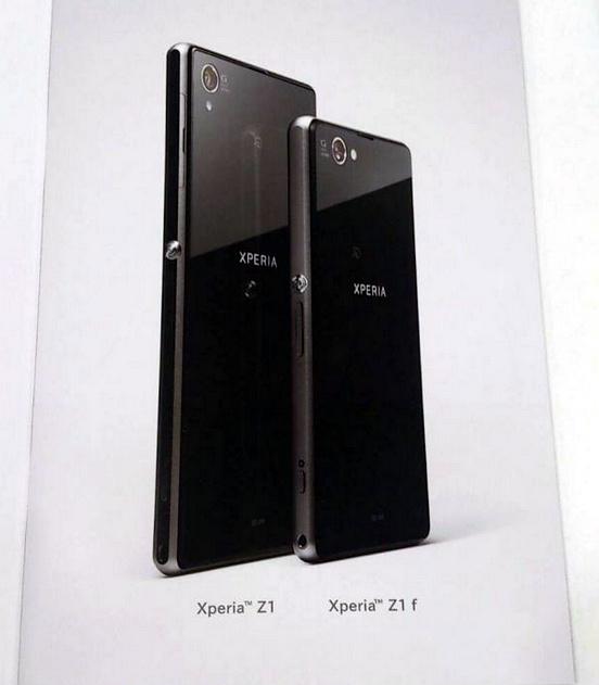 Sony Xperia Z1 f zeigt sich auf erstem Bild – Mini Version des Z1