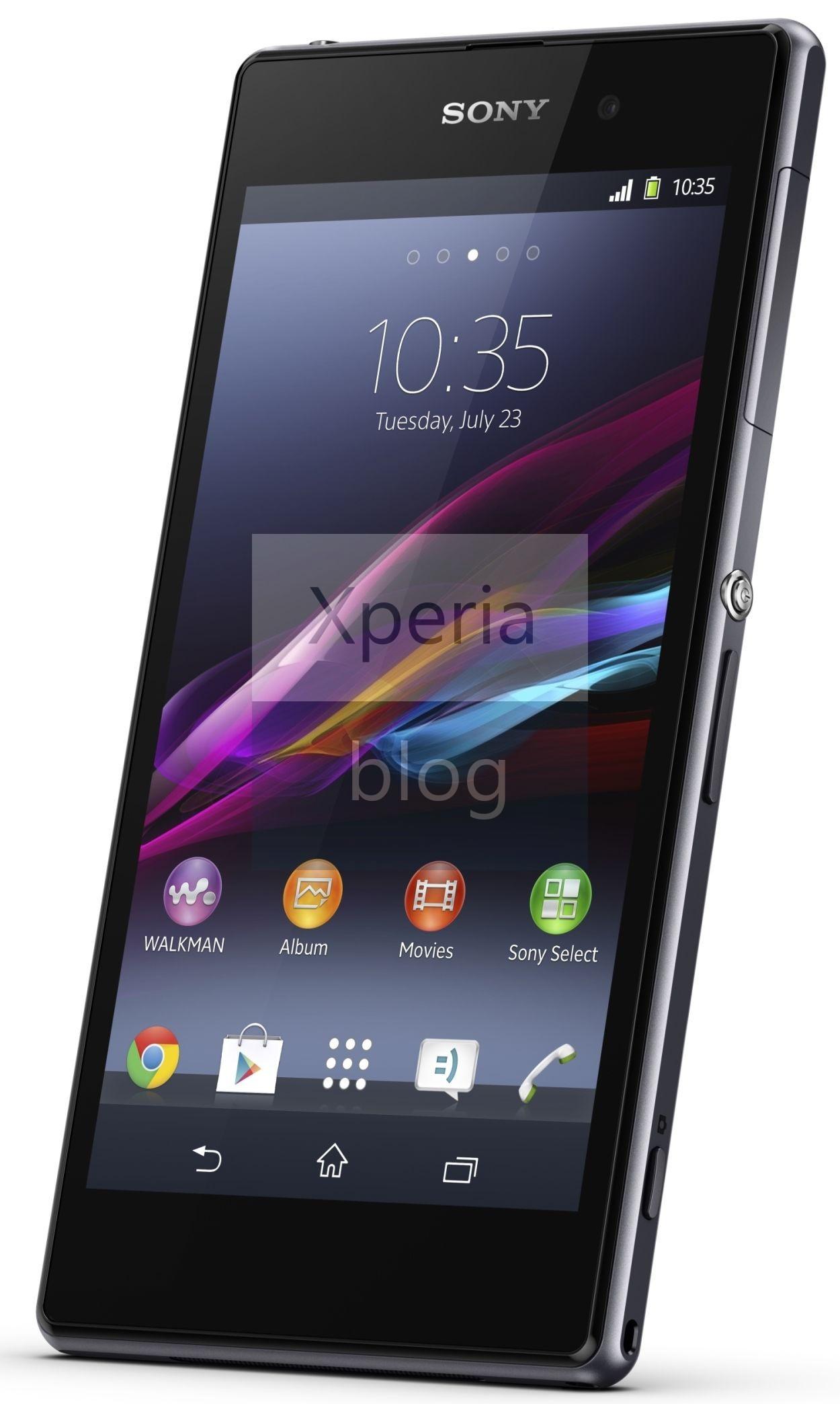 Offizielle Pressebilder des Sony Xperia Z1 veröffentlicht