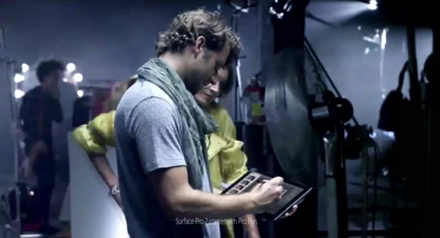 Weiterer Surface 2/ Surface 2 Pro Werbespot