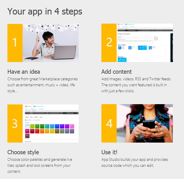 "Neues Update für das ""Windows Phone App Studio"" bringt SkyDrive-Integration"