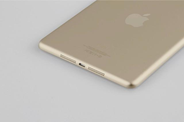 """Neue Bilder vom """"Apple iPad Mini 2"""" zeigen Gold-Version & TouchID"""