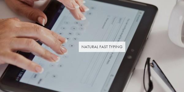 """""""Dryft"""" – Neuer Ansatz für Touch-Tastaturen auf dem Tablet und Co."""