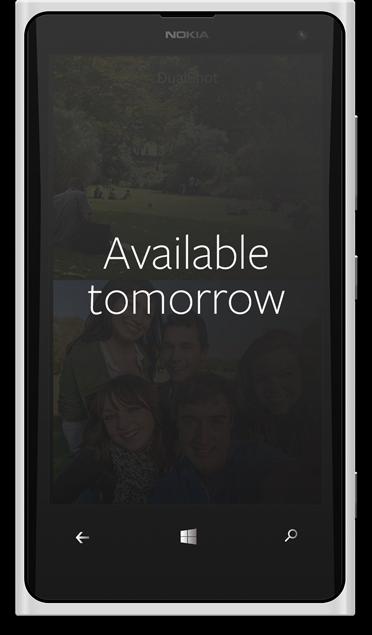 DualShot für Windows Phone kommt morgen – Beide Smartphone-Kameras gleichzeitig nutzen und daraus ein Bild erstellen