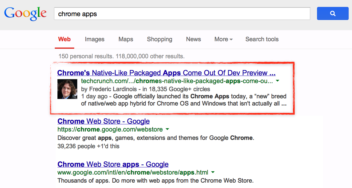 Update bei Google+ bringt Autoren-Informationen innerhalb der Google-Suche und die Möglichkeit Google+ Beiträge in Webseiten einzubetten