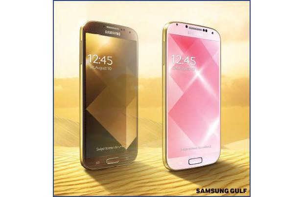 Samsung kommt mit einem goldenen GS 4