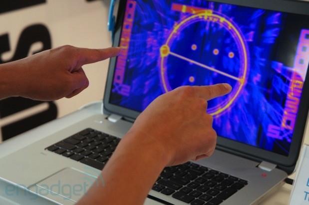 HP Envy 17 mit eingebautem Leap Motion mit Video