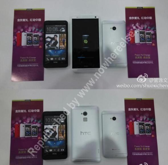 """""""HTC One Max"""" zeigt sich mit dem HTC One auf Bildern"""