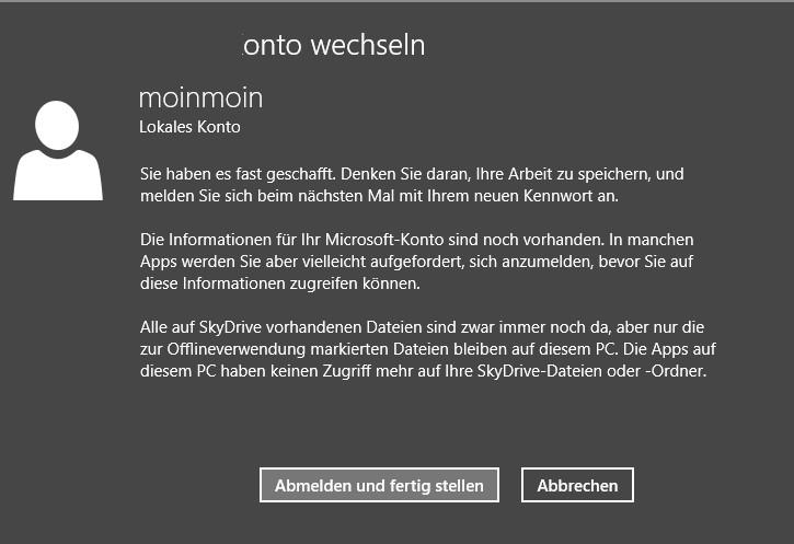 KB4038792 Windows 8.1 Anmeldung mit dem Microsoft Account schlägt fehl [Update]