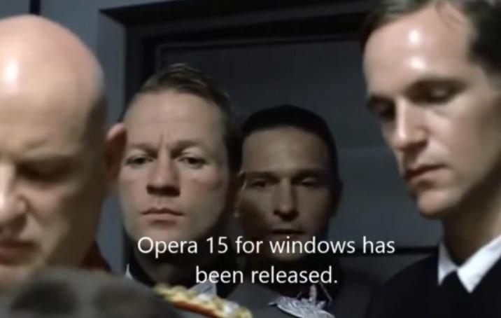 Operas neue Features in einem sarkastischen Video