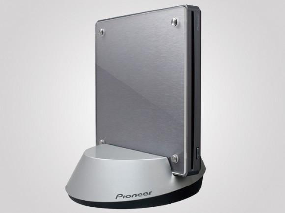 """Pioneer stellt Blu-ray-Laufwerk """"BDR-WFS05J"""" vor mit Wlan-Basisstation"""