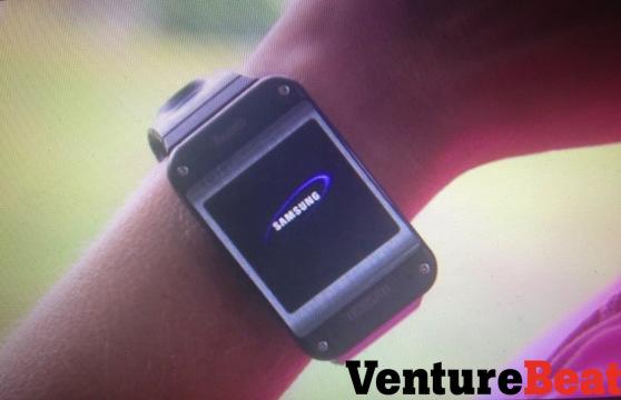 """Samsung Smartwatch """"Galaxy Gear"""" zeigt sich auf ersten Bildern"""