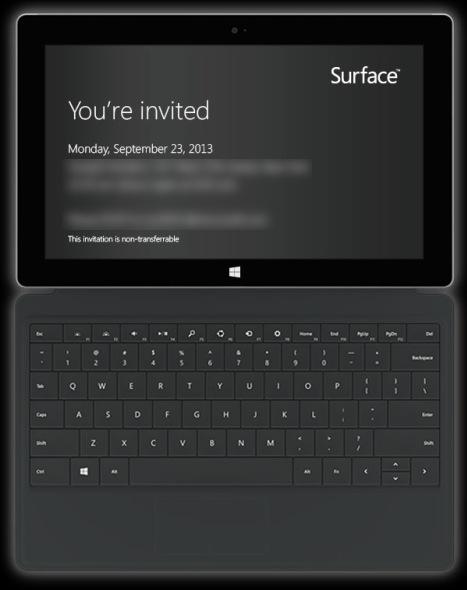 23.September 2013 – Microsoft lädt zum Pressetermin