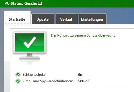 Microsoft gibt zu, dass die Security Essentials nicht ausreichend sind