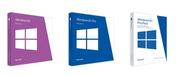 Windows 8.1 Preise stehen fest