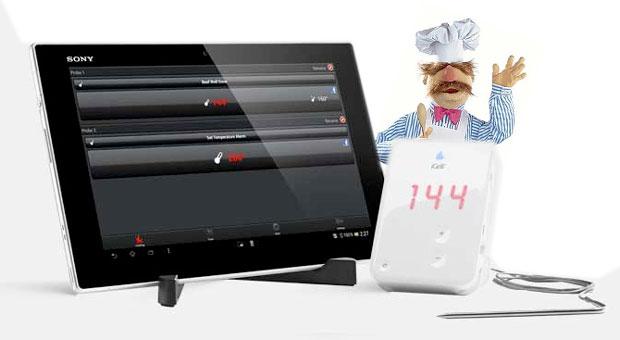 Xperia Tablet Z – Die Küchenedition von Sony