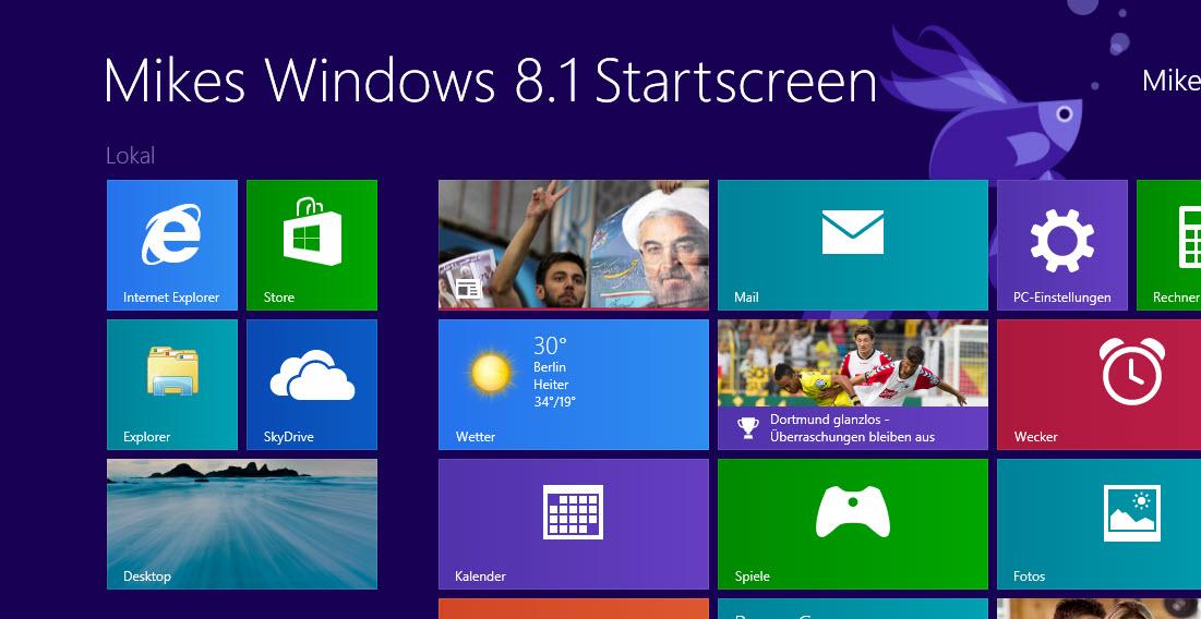 Microsoft aktualisiert alle Apps zum Start von Windows 8.1