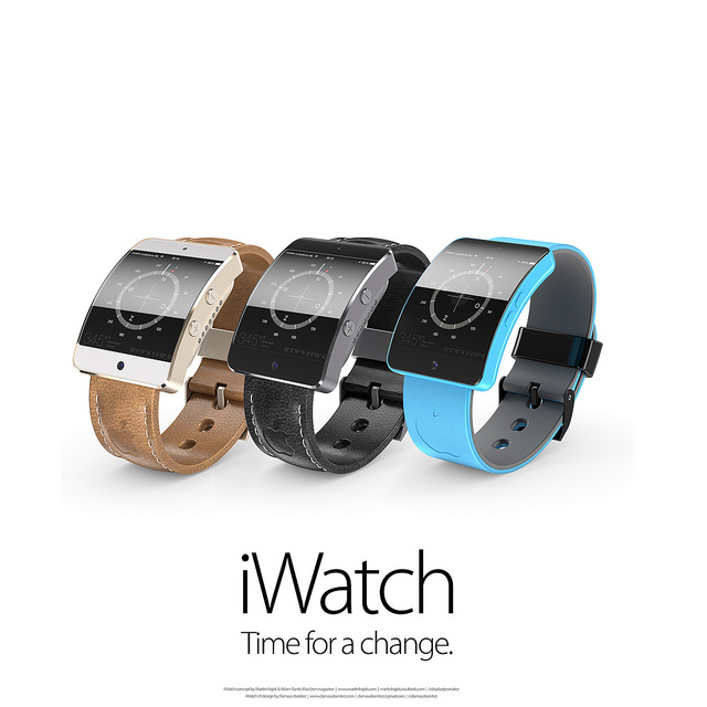 """Konzepte zur """"iWatch"""" von Apple"""