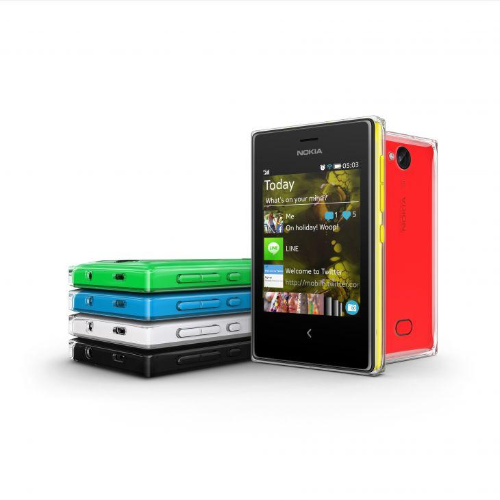 """Nokia stellt 3 neue Smartphones der """"Asha-Serie"""" für Einsteger vor"""