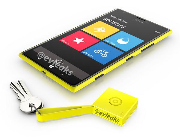 Neues Bild zeigt Nokia Lumia 1520 mit Treasure Tag